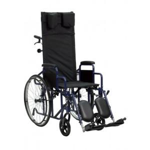 Sedia a rotelle Carrozzina Pieghevole Con Schienale Reclinabile - Termigea - CAR-PR