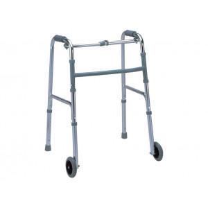 Deambulatore con 2 ruote