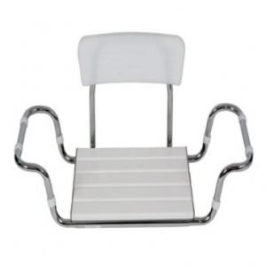 Sedile in plastica con schienale per vasca da bagno - Termigea BA20